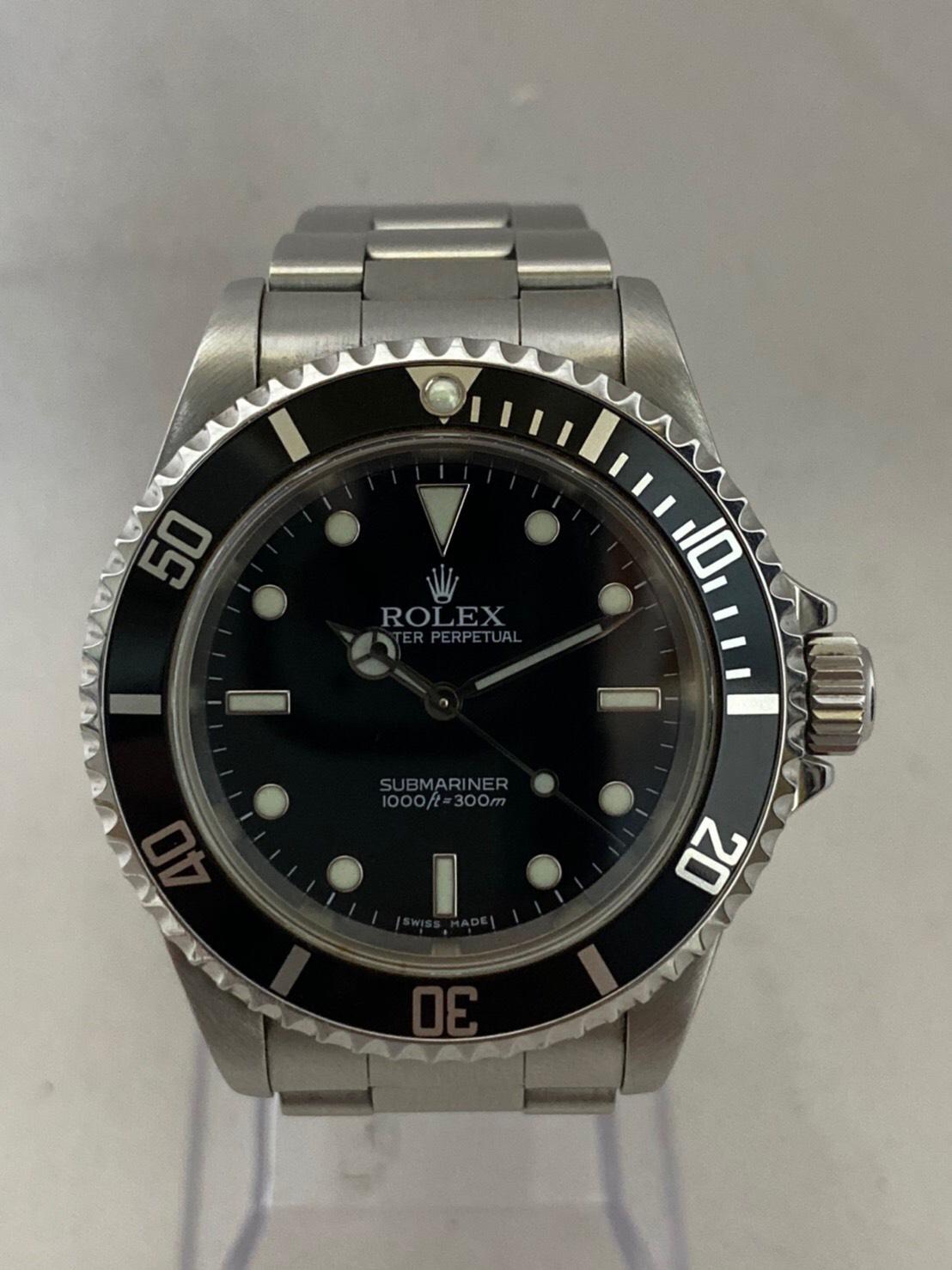 ロレックス[ROLEX]Ref.16570 エクスプローラーⅡ ブラック Y番