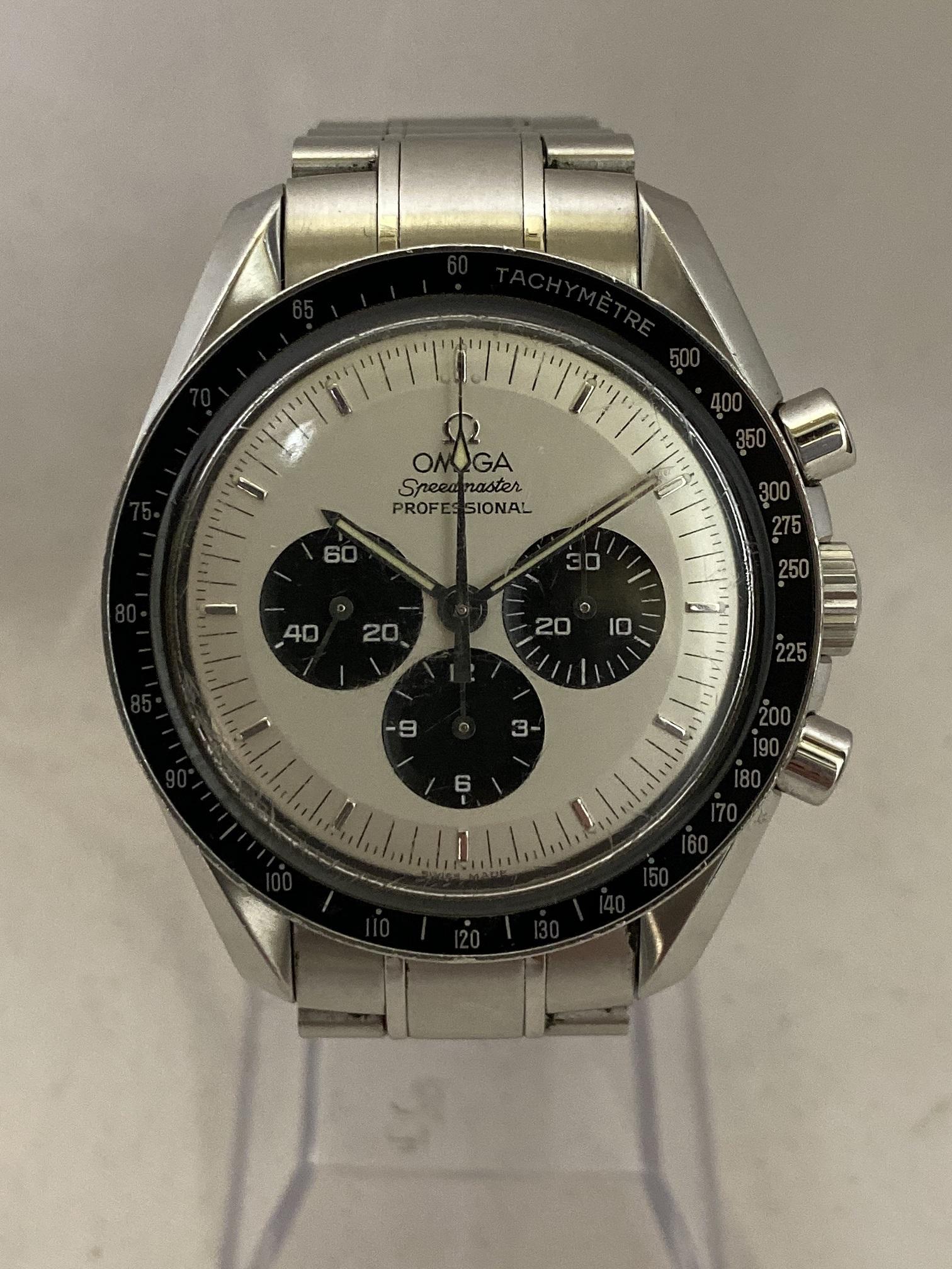 ブランド「オメガ」商品名「スピードマスター三越限定」型番「ST145.0022/3570.31」カラー「ホワイト」