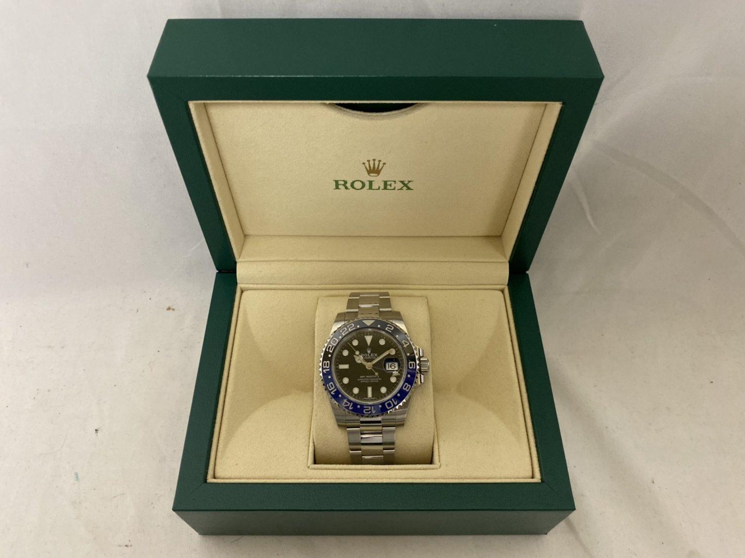 ブランド「ロレックス」商品名「GMTマスターⅡ」型番「16710」カラー「ブラック」