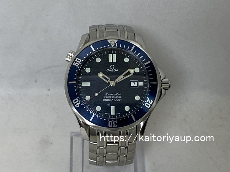 ブランド「オメガ」商品名「シーマスター」型番「2541.80(196 1523)」カラー「ブルー」